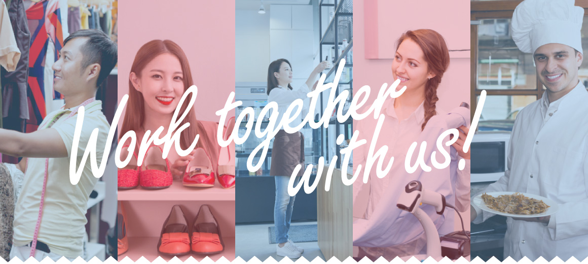 Work together with us!