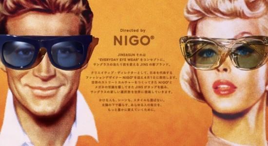 NIGO®監修のサングラスブランド「JINS&SUN」が誕生