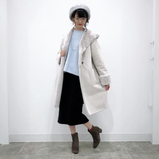 NEW☆モールフェザーヤーンオーバーサイズセーター セーター,ニット,トップス
